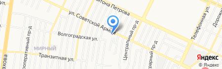 Фламинго на карте Барнаула