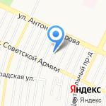 Сувениры на удачу на карте Барнаула