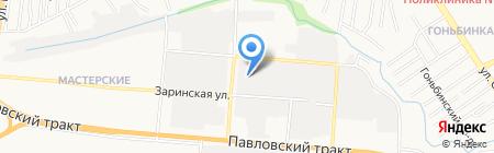 СтроимДом22 на карте Барнаула