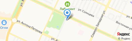 Стайлинг на карте Барнаула