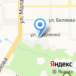 Заряд на карте Барнаула