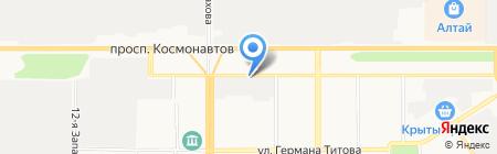 Хонда сервис на карте Барнаула