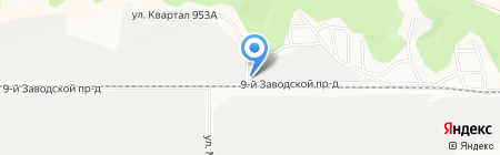 Дельта+ на карте Барнаула
