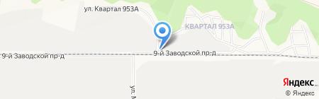 КомплектСервис на карте Барнаула
