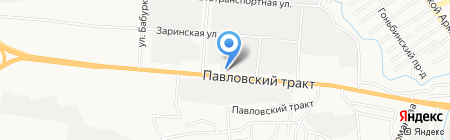 Упаковщик на карте Барнаула