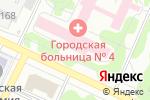 Схема проезда до компании Городская больница №4 в Барнауле