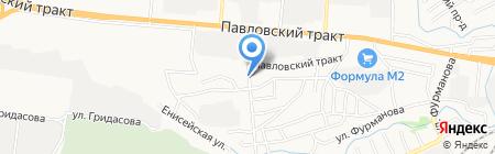 Аллюр на карте Барнаула