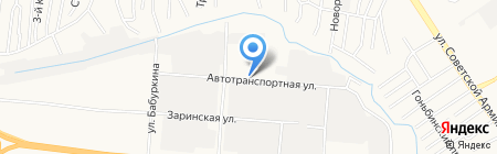 Экономстрой на карте Барнаула