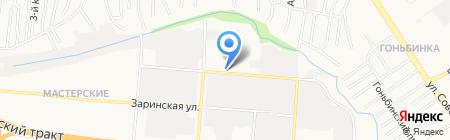 Автотрейд+ на карте Барнаула