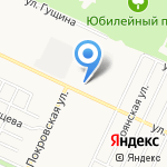 Городская больница №4 на карте Барнаула