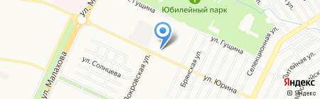 Здоровей-ка на карте Барнаула