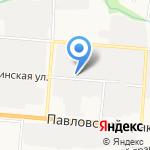 Магазин автозапчастей на карте Барнаула