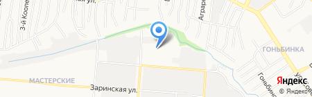 Комплекс-Барнаул на карте Барнаула