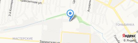 Служба заказа автокрана на карте Барнаула