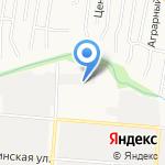 Металлхозторг на карте Барнаула