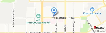 Шанти на карте Барнаула