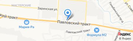 Центр Ворот на карте Барнаула