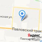 Рублевка на карте Барнаула