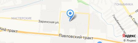 СпецПрибор на карте Барнаула
