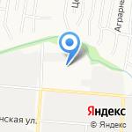 Алтайский хозмаг на карте Барнаула