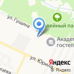 ЛЭНАР на карте Барнаула
