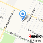 Вольный стрелок на карте Барнаула