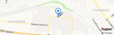 Текстиль для дома на карте Барнаула