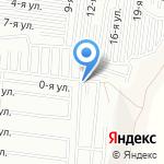 Автокомбинат на карте Барнаула