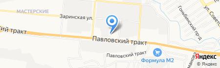 Модуль-дом на карте Барнаула