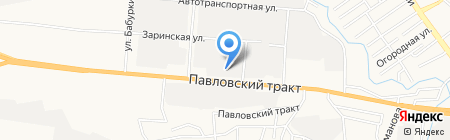 Содружество на карте Барнаула