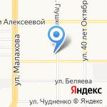 СДЮШОР по спортивной гимнастике Хорохордина С.Г. на карте Барнаула