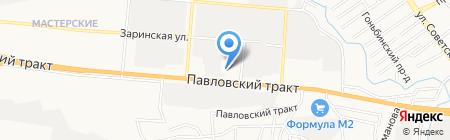 НефтеГрупп на карте Барнаула