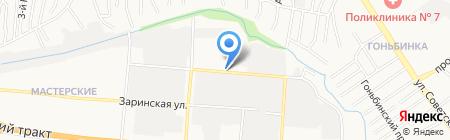 Вектор Плюс на карте Барнаула