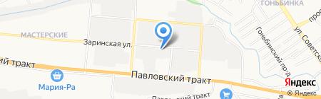 Сибинтехсервис на карте Барнаула