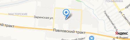 Авто Друг на карте Барнаула