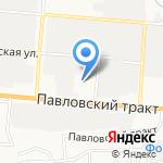 KIRA на карте Барнаула