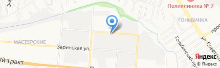 Автомиг на карте Барнаула