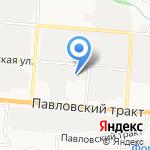 Элит Сервис на карте Барнаула