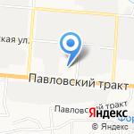 Автоателье по пошиву чехлов и производству автомобильных ковриков Оксаны Немцевой на карте Барнаула