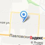 Автомастерская 22 на карте Барнаула