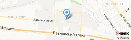 Каламбур на карте Барнаула