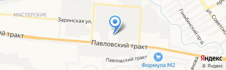 Восток сервис+ на карте Барнаула