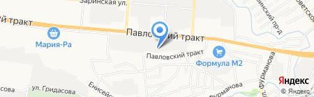 Сити-строй на карте Барнаула