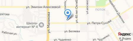 Визит к стоматологу на карте Барнаула