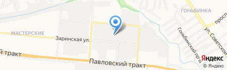 Региональная Техническая Компания на карте Барнаула