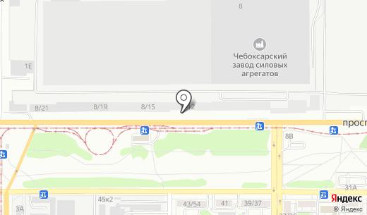 Кулинар. Схема проезда в Барнауле