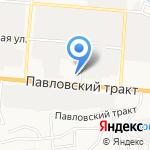 ЕАвто на карте Барнаула