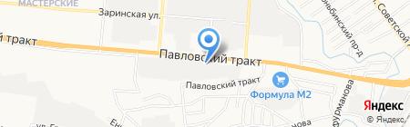 Автозапчасти для Волги Газели на карте Барнаула