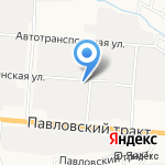 Автогранд на карте Барнаула