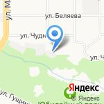 V-Авто на карте Барнаула